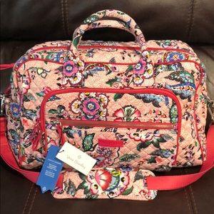 VeRa Bradley Iconic COMPACT weekend travel bag.NWT
